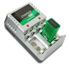 EU Plug Charger For AA/AAA/9V/Ni-MH/Ni-Cd Rechargeable Battery Batteries IJ