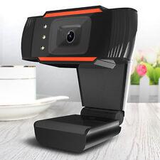 12.0mp HD Megapixels USB 2.0 WEBCAM CAMERA VIDICON Mic Clip para skype ordenador