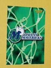 Cartes de basketball Dallas Mavericks
