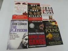 Bulk Lot of 6 True Crime Books (Paperback) GT4