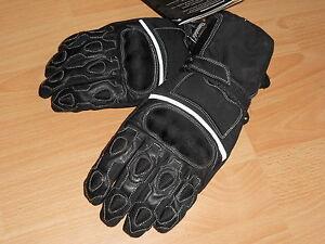 Herren Leder Motorrad Handschuhe Motorradhandschuhe Gr. M  NEU Lederhandschuhe