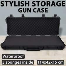 vidaXL Waterproof Molded Gun Case Plastic Storage Cabinet Hunting Accessory