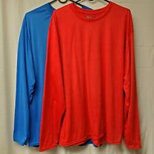 Gildan Men's Performance® Long Sleeve Shirts Set of 2 Colors XL New with Tags.