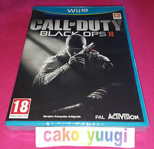 CALL OF DUTY BLACK OPS II WII U VERSION 100% FRANCAISE NEUF SOUS BLISTER