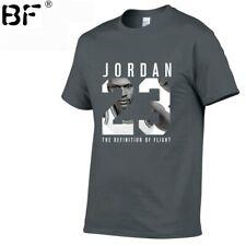 New Brand Clothing Jordan 23 Men T-shirt Swag T-Shirt Cotton Print Men T shirt