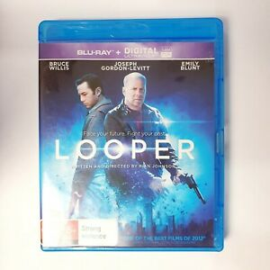 Looper Movie Bluray Free Postage Blu-ray - Action Scifi