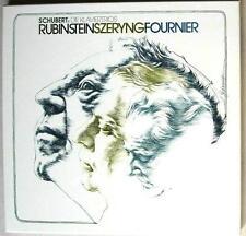 SCHUBERT: 2 piano trios > Rubinstein Szeryng Fournier / RCA Germany stereo NM