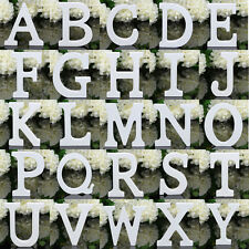 26 Large Wooden Letters Alphabet Wall Hanging Wedding Party Home Decoration