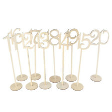 1-20 Wedding Table Number Holder Basic for Wedding Home Decoration C6B5