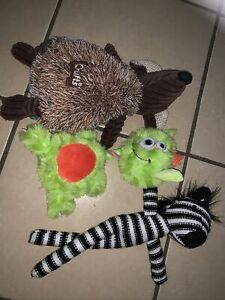 Dog Toys Bundle Used Unwanted Pooch Crufts Novelty Activities
