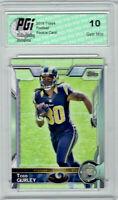 @ Todd Gurley 2015 Topps Football #422 Los Angeles Rams Rookie Card PGI 10