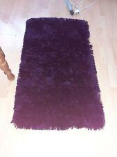 Wine red rug