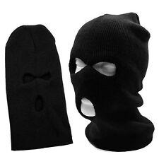 BAD BOYZ PROTEST FIGHT BIKER Full Face Cover Wool Warm Black Beanie =BAD BOYZ SA