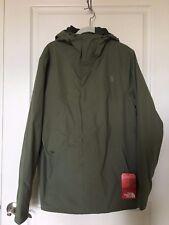 The North Face Men's Folding Travel Jacket Deep Lichen Green Retail $130 Size M