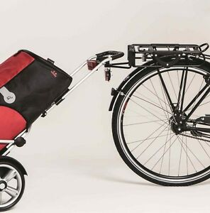 Andersen Fahrrad-Anhänger-Kupplung Royal Shopper Fahrradkupplung Einkaufstrolley