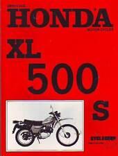HONDA  XL500S XL500 WORKSHOP SERVICE REPAIR  MANUAL 1980