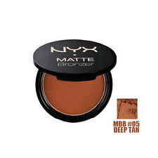 1 BRAND NEW NYX MATTE FACE BRONZER DEEP TAN - MBB05
