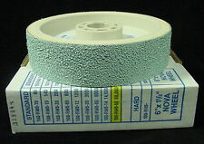 "6"" NOVA Diamond polishing Wheel GRIT 50000 grinding shaping Genie cabbing NEW"