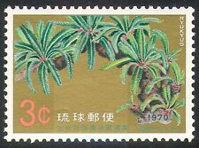 Ryukyus 1970 Plants/Trees/Nature/Cycad of Une 1v n26586