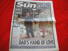PRINCESS DIANA DEATH ~ RARE UK NEWSPAPER PLUS 24 PAGE PHOTO TRIBUTE~ SEP 5 1997