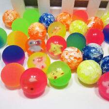 10Pcs Creative Rubber Bouncing Jumping Ball 27mm Kids Children Game Toy Gifts