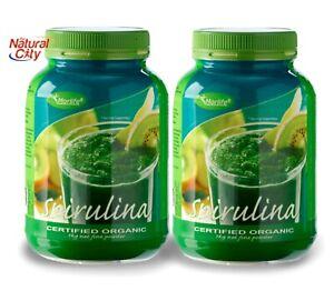 Morlife Organic Spirulina Powder 1kg x 2