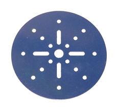 "Meccano Part 146a Circular Plate 4"" Diameter Blue"