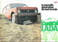 LADA NIVA 1600 - VAZ 2121 - 1980 ? FRENCH / catalogue brochure prospekt dépliant