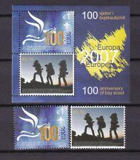 Kosovo - year 2007 - Michel 68/9+Bl 6 Europa Cept - MNH - 100 Euro