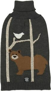 Petrageous Acadia Bear Dog Sweater Gray - XLarge - NEW with tags - Free Shipping