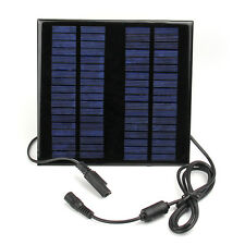 18V 2W Portable Solar Panel Battery Charger Backup For Laptops Computer Car