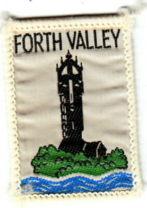Boy Scout Badge Ext FORTH VALLEY Scotland