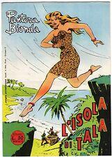fumetto PANTERA BIONDA ANNO 1954 COLLANA JUNGLA AVVENTUROSA NUMERO 15 EDICOLA
