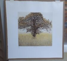 "Phil Greenwood  ""LITTLE OAK"" Landscape Etching Aquatint 8/150 LISTED ARTIST"