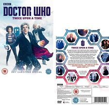 DR WHO 2017 Christmas Special TWICE UPON A TIME Doctor Peter Capaldi   - DVD  UK