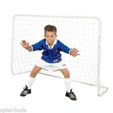 2 Stück Kinder Fussballtor Fussball Hockey Tor stabiles Netz 182 x 122 cm