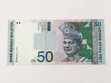 9th Series Malaysia RM50 Ringgit Condition : VF