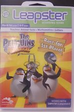 Leapster: Penguins of Madagascar Game (Leapster, 2010) New & Sealed