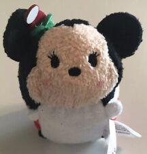 Disney Tsum Tsum Christmas Mini Plush Stuffed Animal Mickey Minnie Mouse
