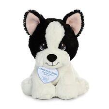 Aurora World Precious Moments Plush Animal, Black & White Dog