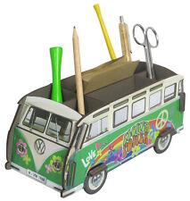 Stiftebecher Stiftebox Zettelbox VW-Bus Bulli T1 Hippie, Steckbausatz