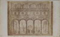 Italia Eglise Antonio Da Padova CDV Foto Di Dopo Incisione Vintage Albumina