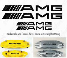 4x AMG Bremssattel Aufkleber gerade Sticker Decal Mercedes Tuning C63 A45