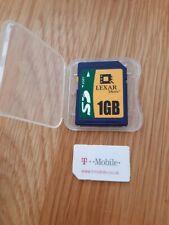 Lexar Media 1GB SD Memory Card
