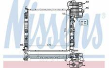 NISSENS Radiateur moteur pour MERCEDES-BENZ VITO 62561A - Mister Auto