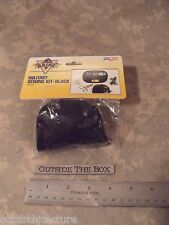 US Military Sewing Kit, BLACK Nylon, w/Folding Scissors, Emergency/Survival, EDC