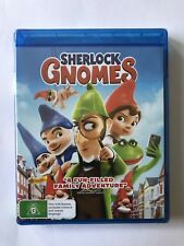 Sherlock Gnomes (Blu-ray, 2018) Brand New & Sealed Movie Rated G 🍿 Family