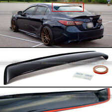For 18 19 20 Camry JDM Rear Window Roof Sun Rain Shade Vent Visor Spoiler Wing