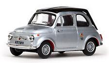 1/43 Modelo a Escala Fiat Abarth 695 Ss, Plata Metálico / Negro 1964