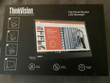 "Lenovo 14"" ThinkVision M14 Full HD WLED 1080P USB-C LCD Monitor, Perfect"